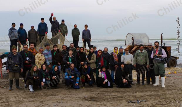 چهل ونهمین تور عکاسی چیلیک در سواحل خزر برگزار شد