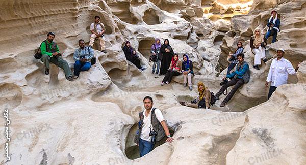 شصت ودومین تور عکاسی چیلیک در قشم برگزار شد