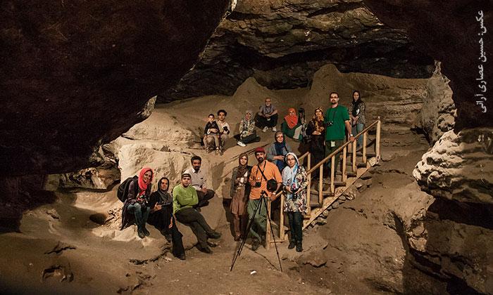 « غار کرفتو و اهالی زیویه » در قاب نگاه عکاسان چیلیک