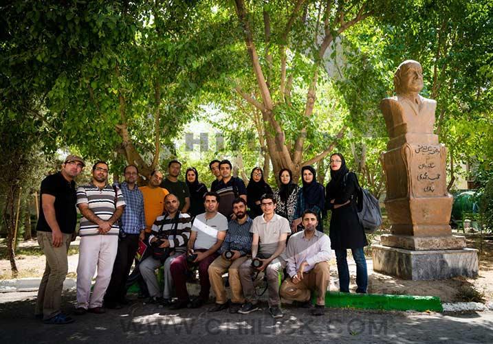 سومین اردوی جشنواره عکس گلستانه برگزار شد
