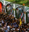 تشییع پیکر شهدای غواص در تهران