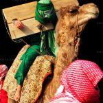 هشت منظر عاشورا - بی بی منور پروانه حسینی | نگارخانه چیلیک | ChiilickGallery.com