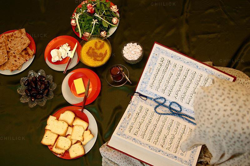 دومین مسابقه عکاسی از سفره افطار - مازیار فرزانه | نگارخانه چیلیک | ChiilickGallery.com