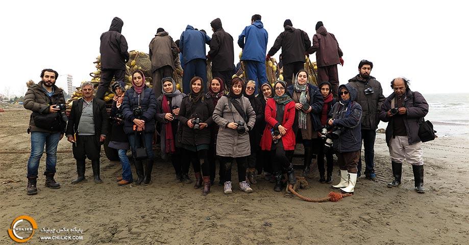 81ومین تور عکاسی چیلیک ماهیگیران