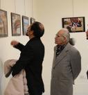 دیدار از عکس های راه یافته به جشنواره عکس تعاون در اردبیل