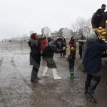 عکاسان تهرانی در حال عکاسی از شرکت تعاونی ماهیگیران پره خرم در استان مازندران - عکاس: مریم خداوردی