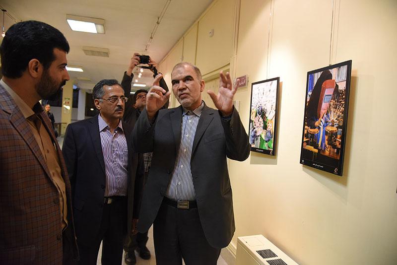 گشایش نمایشگاه جشنواره ادواری تعاون
