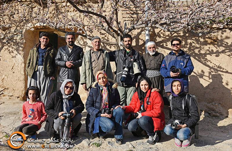 گزارش تور عکاسی چیلیک به کردستان غار کرفتو