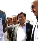 دیدار استاندار کردستان از نمایشگاه عکس غار کرفتو