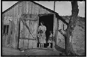 راسل لی ، ارل پاولی و برخی کودکان وی ، 1936