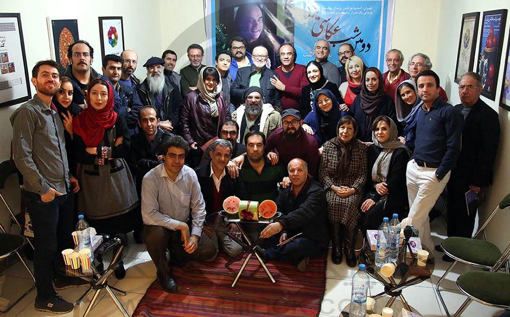 زین العابدینی - دومین شب عکاسی یلدا برگزار شد