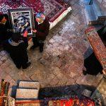عکاس: سروش جوادیان   راه یافته به بخش فرش تبریز هفتمین جشنواره عکس فیروزه تبریز