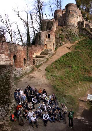 دوازدهمین تور عکاسی چیلیک به قلعه رودخان رفت