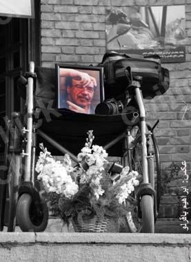 مراسم یادبود ابوطالب امام در قطعه هنرمندان