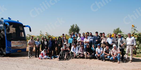 بیستمین تور عکاسی چیلیک در تاکستان قزوین برگزار شد