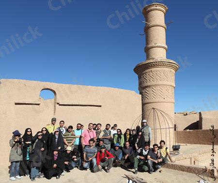 بیست و سومین تور عکاسی چیلیک در اردکان و یزد برگزار شد