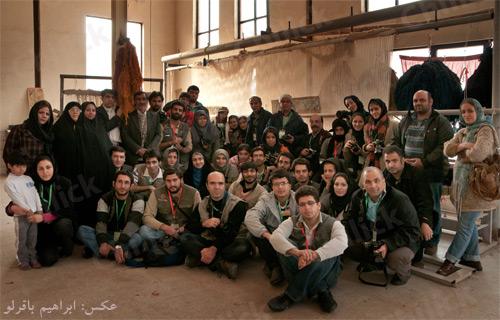 بیست و پنجمین تور عکاسی چیلیک در ورامین برگزار شد