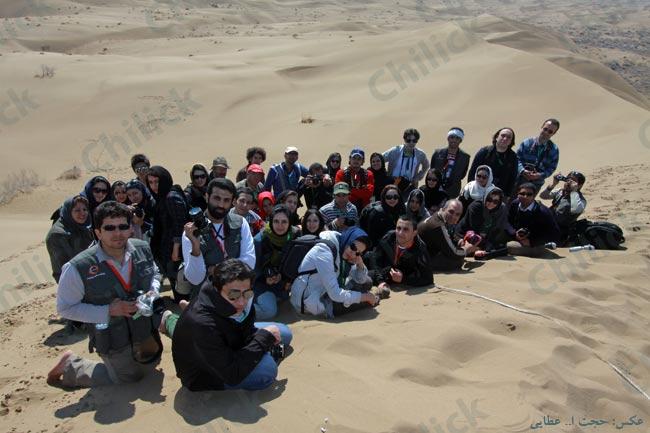 آخرین تور عکاسی چیلیک در کویر مرنجاب برگزار شد