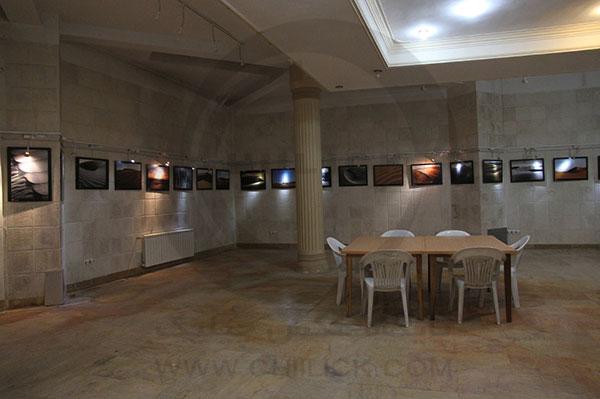 گشایش نمایشگاه انتهای زمین در تاکستان