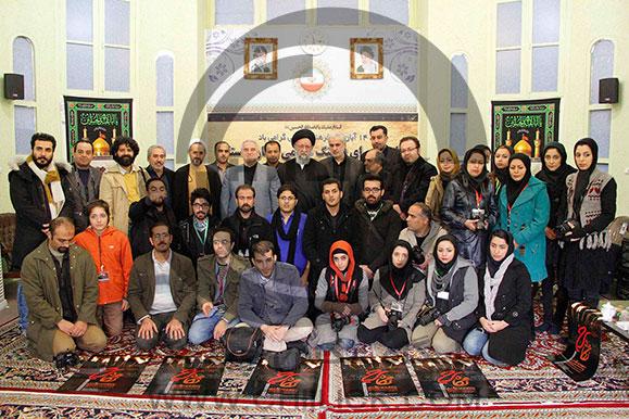 دیدار عکاسان با آیت ا.. نورمفیدی در استان گلستان