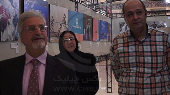 گزارشی از نمایشگاه دوسالانه عکس ورزشی ایران