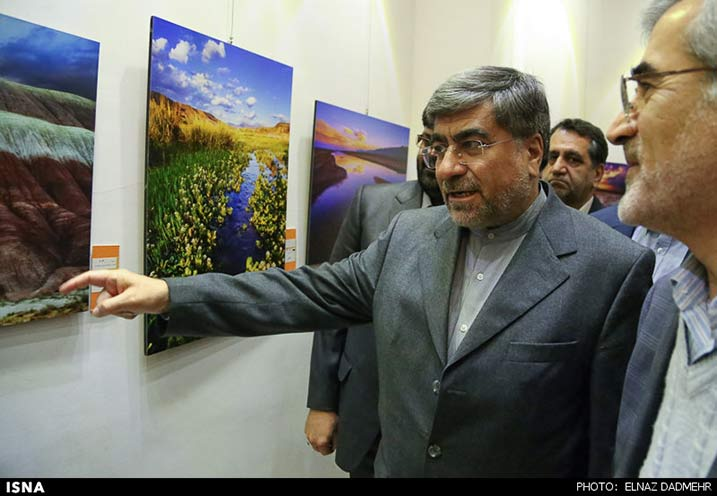 گزارش گشایش نمایشگاه جشنواره عکس سرو البرز