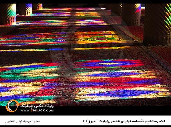 نگاه های برتر تور عکاسی شیراز معرفی شدند