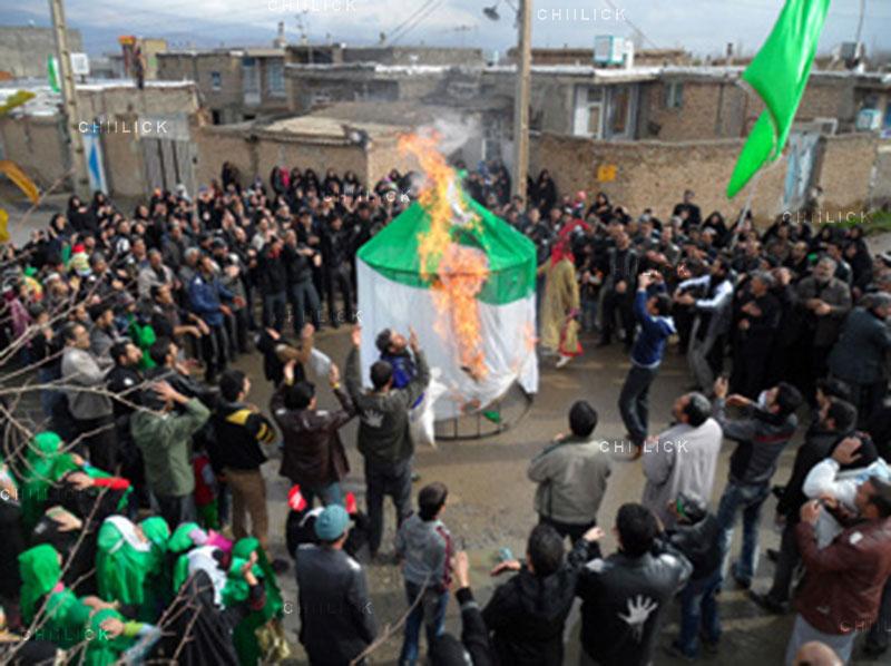 دومین مسابقه ملی نگاه سرخ - علی سهرابی ، بخش اصلی:(عکس عاشورایی) ب) تلفن همراه | نگارخانه چیلیک | ChiilickGallery.com