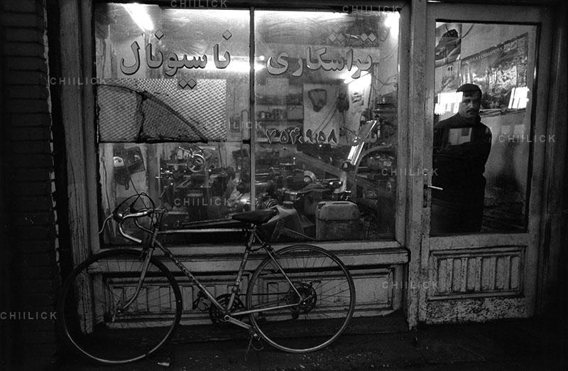 بی سیکلت - حسن مالکی | نگارخانه چیلیک | chiilickgallery.com