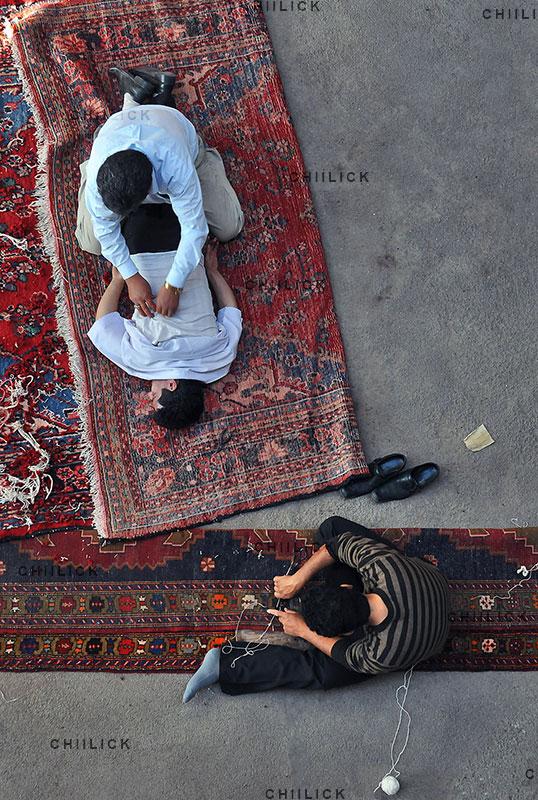 اولین دوره مسابقه عکس فرش دستباف - سهیل زندآذر | نگارخانه چیلیک | ChiilickGallery.com
