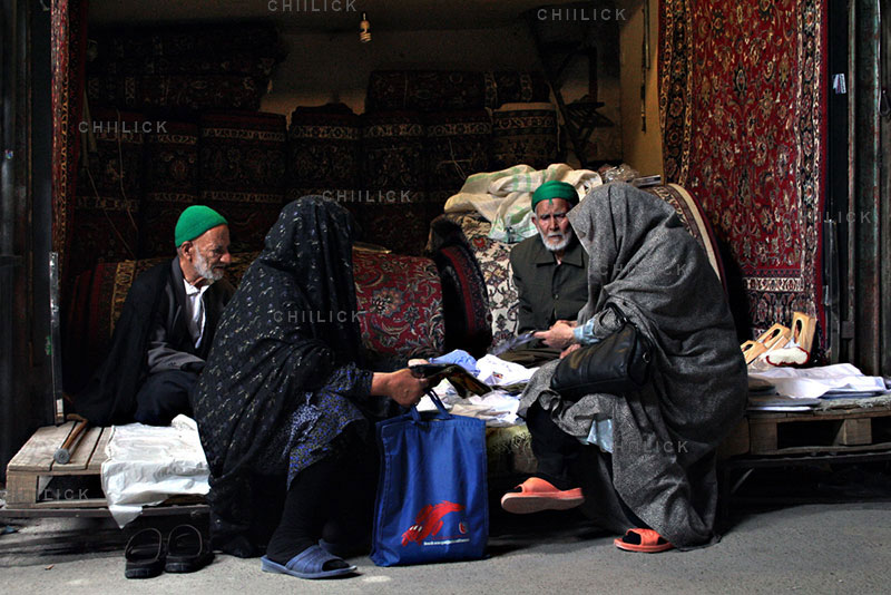 اولین دوره مسابقه عکس فرش دستباف - محمود بازدار | نگارخانه چیلیک | ChiilickGallery.com