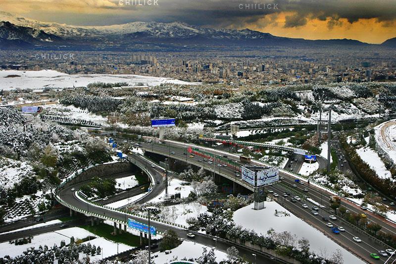 تهران 90 - سعید حسن عباسی | نگارخانه چیلیک | ChiilickGallery.com