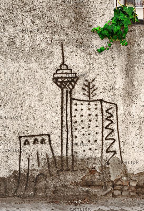 چهارمین جشنواره عکس زمان - سهیل زندآذر ، نگاه آزاد و خلاق به مفهوم زمان | نگارخانه چیلیک | ChiilickGallery.com