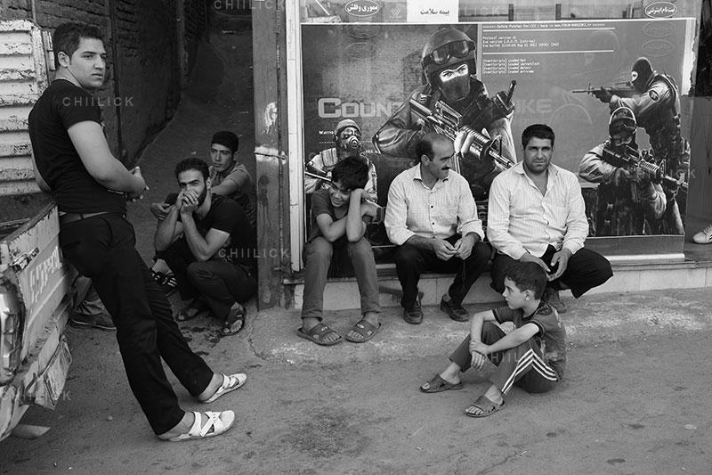 پنجمین جشنواره ملی عکس فیروزه - حسین ملکی ، راه یافته به بخش محلات قدیمی و دروازه های نه گانه | نگارخانه چیلیک | ChiilickGallery.com