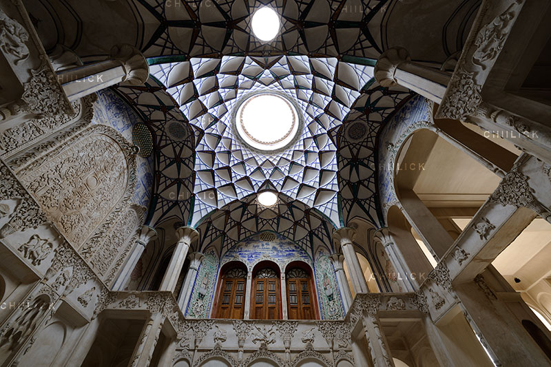 دومین جشنواره ایران شناسی - حسن غفاری ، راه یافته به بخش تزیینات معماری | نگارخانه چیلیک | ChiilickGallery.com