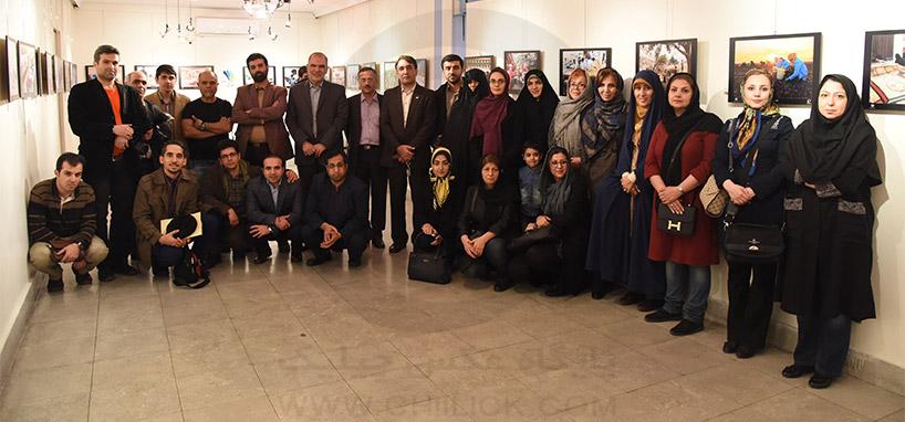 گشایش نمایشگاه عکس تعاون
