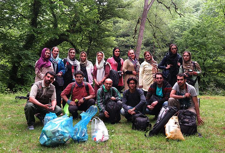 کارگاه عکاسی طبیعت در طبیعت مازندران برگزار شد