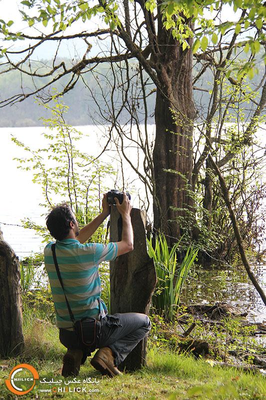 آبگیر الندان تور عکاسی چیلیک
