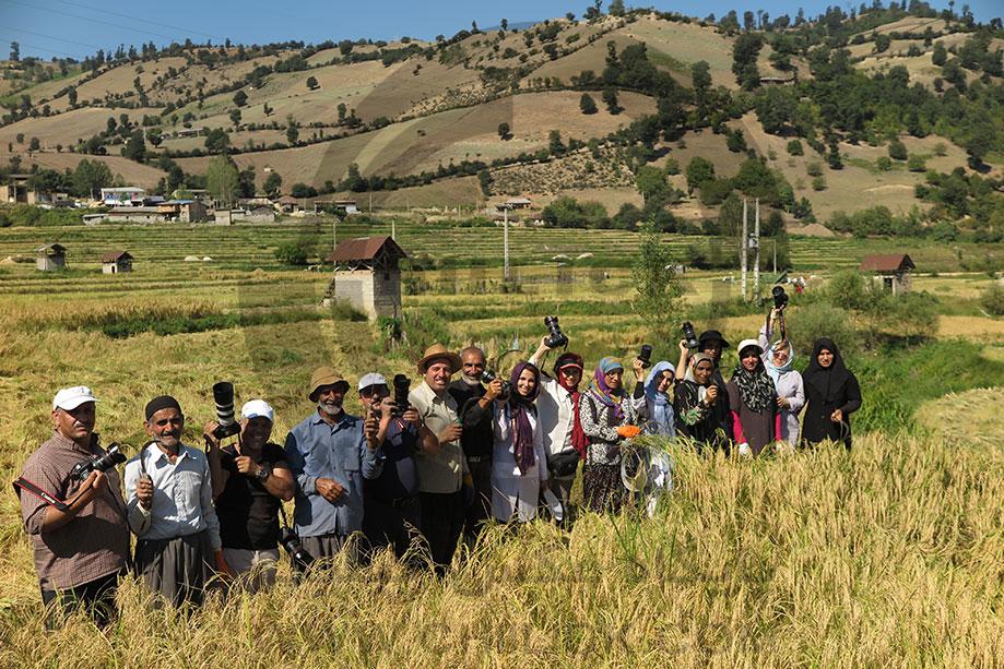 عکاسی مستند درو شالی 88ومین تور عکاسی چیلیک