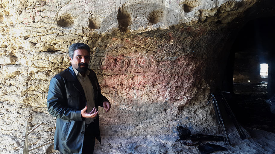 علی هژبری - غار کرفتو