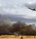 تجاوز شعله های آتش به « تالاب میقان »