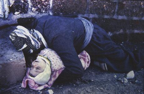 عکاس: ساسان مویدی | عکس بمباران شمیایی حلبچه