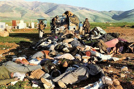 عکس بمباران شمیایی حلبچه | عکاس: سعید جانبزرگی